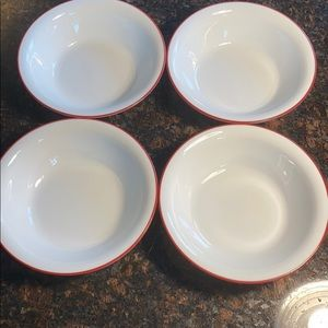 4 Corelle Splendor 18 oz Bowls